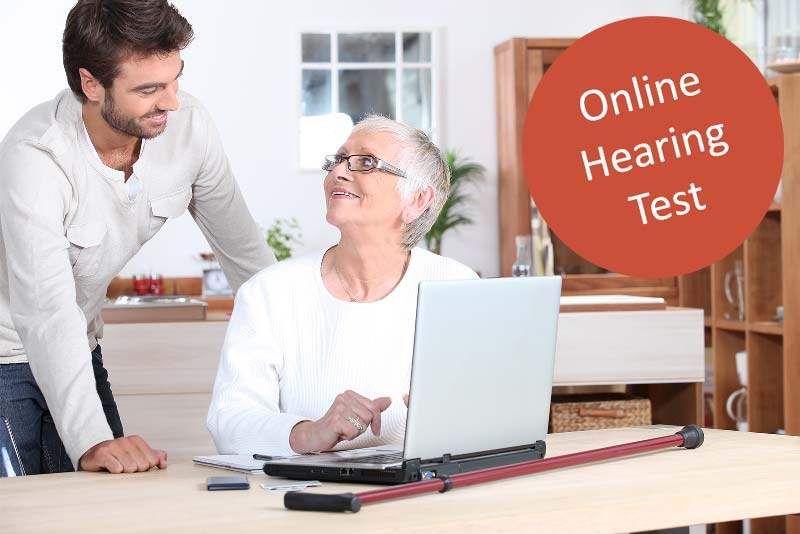 Free online hearing test aids lady kitchen