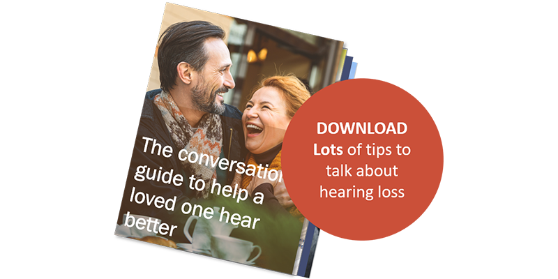 Tips to talk about hearing loss - Helix hearing Care
