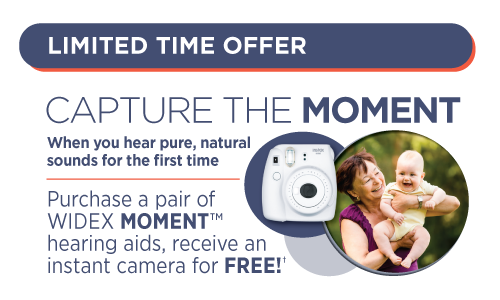 Widex Moment limited time offer information